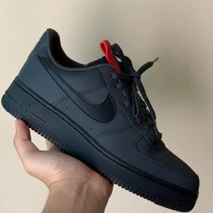 RARE NIKE AIR FORCE 1 AF1 Anthracite Sneakers NEW
